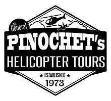 Pinochet's Helicopter Tours Photographic Print