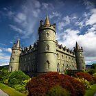 Inverary Castle View by Richard Mason