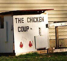 Chicken Coup ~ Fowl Revolution in Hamburg, NY by artwhiz47