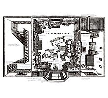 Sherlock Floorplan Photographic Print