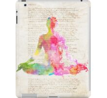 Yoga book iPad Case/Skin