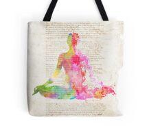 Yoga book Tote Bag