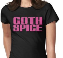 Goth Spice (Pink) Womens Fitted T-Shirt