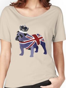 English Bulldog Women's Relaxed Fit T-Shirt