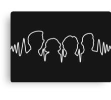 Arctic Monkeys AM Canvas Print