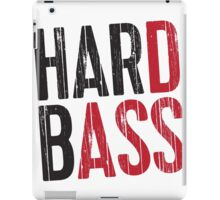 Hard Bass iPad Case/Skin