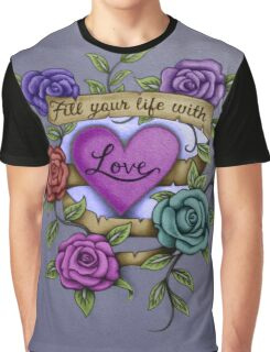 Life Of Love Graphic T-Shirt
