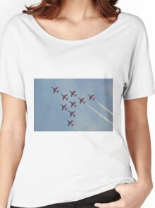 Apollo Formation   The Red Arrows Women's Relaxed Fit T-Shirt