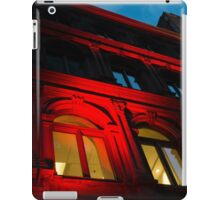 City Night Walks - the Red Facade iPad Case/Skin