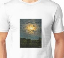 IMPRESSIONIST CLOUD-LIT NEW MOON  Unisex T-Shirt