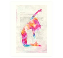 Yoga Book, Foreword. Art Print
