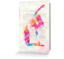 Yoga Book, Foreword. Greeting Card