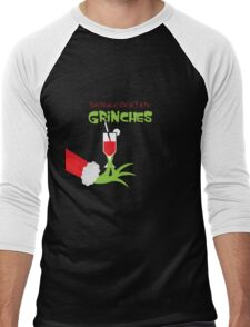 Drink cocktail funny christmas hoodies Men's Baseball ¾ T-Shirt