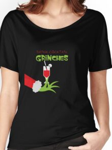 Drink cocktail funny christmas hoodies Women's Relaxed Fit T-Shirt