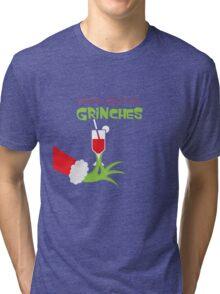 Drink cocktail funny christmas hoodies Tri-blend T-Shirt
