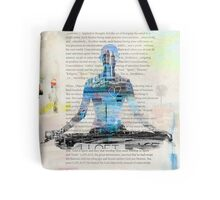 Lesson one, Concentration Yoga Tote Bag