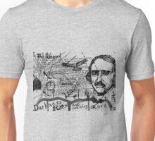 Edgar Allen Poe - The Raven - Dichter - Poet - Schriftsteller Unisex T-Shirt