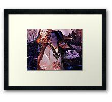 Fantasia Oriental Framed Print
