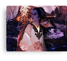 Fantasia Oriental Canvas Print