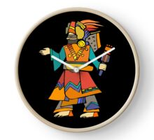 Ancient Egyptian Painting - Dancer Clock