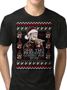 Santa Freddy Tri-blend T-Shirt
