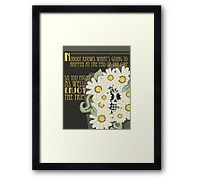 Sprouted Framed Print
