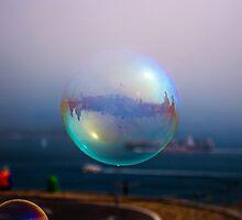Bubble by the Bridge by Richard Mason