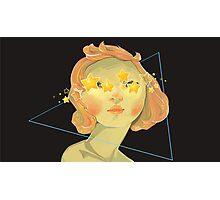 Star Girl Photographic Print