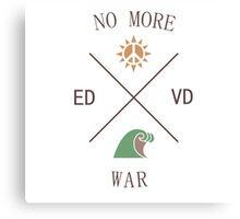 No More War Canvas Print