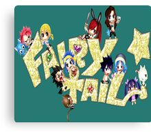 Chibi Fairy Tail Blink - Anime Canvas Print