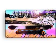 Skate is Art Canvas Print
