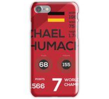 Michael Schumacher iPhone Case/Skin