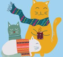 Cat Cuddle Sticker