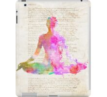 Yoga Book, COLORS version iPad Case/Skin