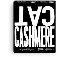 Cashmere Cat, Sophie / North American Tour Canvas Print