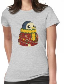 Christmas Gunter - Adventure Time  Womens Fitted T-Shirt