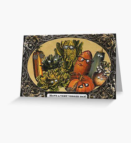 Veggie Day Greeting Card