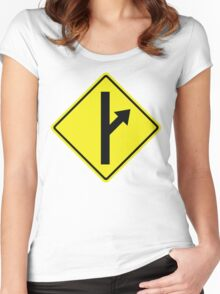 MGTOW Symbol for Men Going Their Own Way Women's Fitted Scoop T-Shirt