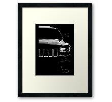 jeep, jeep grand cherokee Framed Print