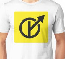 MGTOW Symbol (2) for Men Going Their Own Way Unisex T-Shirt