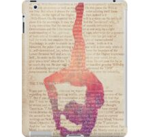 Old yoga page iPad Case/Skin