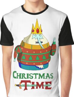Christmas Ice King - Adventure Time Graphic T-Shirt