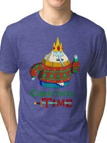 Christmas Ice King - Adventure Time Tri-blend T-Shirt