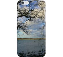 View From Hayling Island to the Road Bridge iPhone Case/Skin