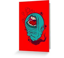 A Silent Scream Greeting Card