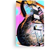 Gibson SG Art Canvas Print