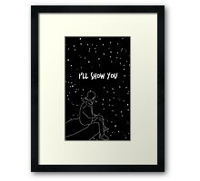 "Justin Bieber Drawing  ""ll Show You "" Framed Print"