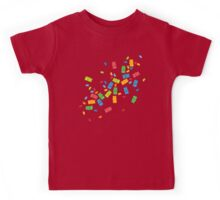 Jelly Beans & Gummy Bears Explosion Kids Tee