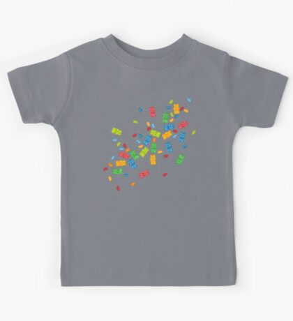 Jelly Beans & Gummy Bears Explosion Kids Tee