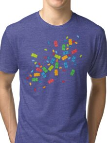 Jelly Beans & Gummy Bears Explosion Tri-blend T-Shirt